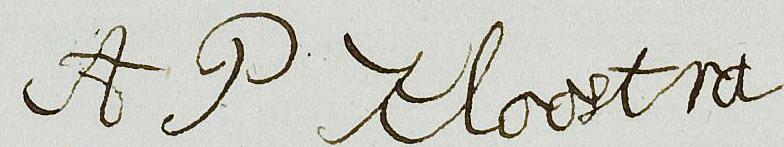 handtekening Antje Kloostra