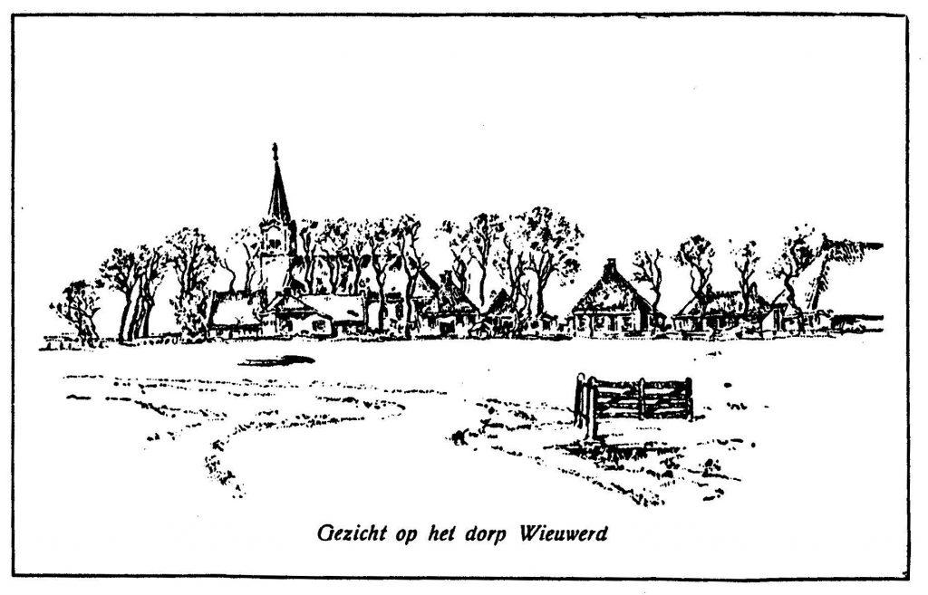 het dorp Wieuwerd