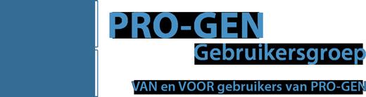 Logo gebruikersgroep Pro-Gen